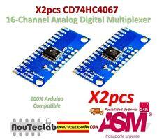 2pcs CD74HC4067 16-Channel Analog Digital Multiplexer Breakout Board Module