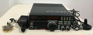 Yaesu Yaes Wireless Machine Hf Transceiver Ft-747Gx With Microphone