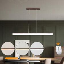 LED Pendelleuchte Hänge-Lampe Dimmbar Esszimmer Deckenleuchte Höhenverstellbar