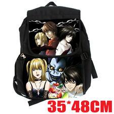 Death Note Yagami Light L Lawliet Cosplay Shoulder Backpack School Bag Rucksack
