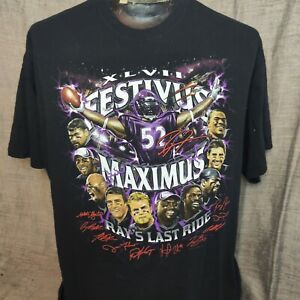 Ray Lewis Superbowl Xlv2 Last Ride Tshirt 2Xl