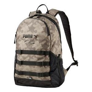 Puma Style Backpack - Shitake Camo AOP NEW