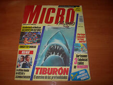 REVISTA MICROMANÍA Nº15 SEGUNDA ÉPOCA (HOBBY PRESS AGOSTO 1989)