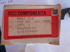 Hydraulic Crimper die Cembre BICC Burndy UNX150C 150mm  Nest die