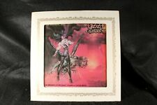 "1986 Ozzy Osbourne - The Ultimate Sin- 6"" X 6"" Carnival Glass Mirror Rock music"