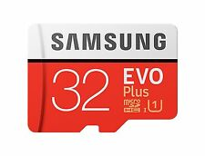 SAMSUNG EVO PLUS MICROSDXC 95MB/s Read 20MB/s Write 32GB FLASH MEMORY CARD st