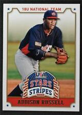 2015 USA Baseball Stars and Stripes #3 Addison Russell - NM-MT
