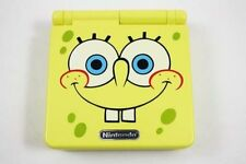 Nintendo Game Boy Advance GBA SP Custom Spongebob Yellow System AGS 001 MINT NEW