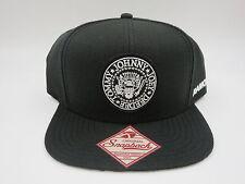 The Ramones Black Skateboard Retro Hipster Vintage Trucker Snapback Hat