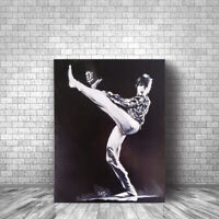 David Bowie Original Art Canvas Print