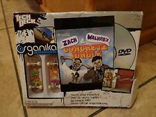 2009 TECH DECK--ORGANIKA SKATEBOARDS W/ CONCRETE JUNGLE SKATE DVD (NEW)