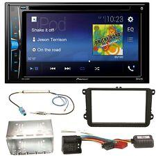 Pioneer AVH-A200BT USB MP3 Bluetooth CD Einbauset für Skoda Fabia Roomster Prakt