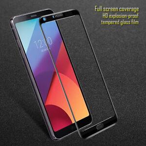 For LG G7 G6 G5 V30 Full 3D Tempered Glass 9H Screen Protector Cover Film Yc