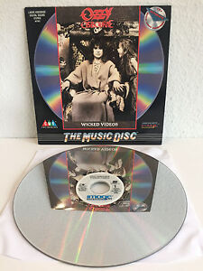 Ozzy Osbourne - Wicked Videos | Laserdisc Video | Black Sabbath | Sehr guter Z.