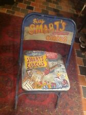 Billy Smarts Circus Chair Fold Up Metal Industrial 1940s Vintage 1950s 1960s