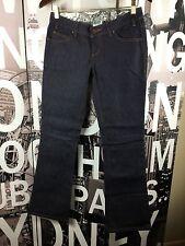 NWOT OAKLEY Womans Bootleg Classic Dark Wash Jeans