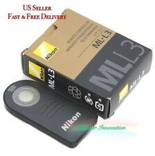 New Generic Nikon ML-L3 Remote Control D3200 D7000 D5100 D5000 D3000 D90 D70 D60