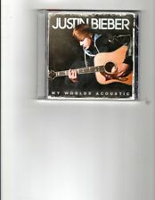 Justin Bieber - My Worlds Acoustic CD NEW SEALED