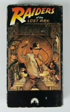 Raiders of the Lost Ark Vhs 1989 Paramount Lucasfilm Starring Harrison Ford (