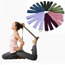 Sport Yoga Stretch Strap D-Ring Belt Gym Waist Leg Fitness Adjustable Belt Bands