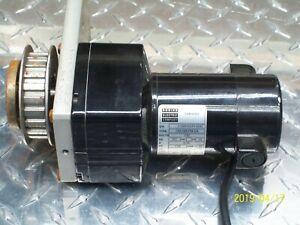 BODINE ELECTRIC 24A2BEPM-D4 GEARMOTOR 1/29 HP .30A