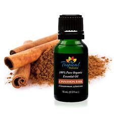 Cinnamon Bark Organic Essential Oil 15ml (1/2 oz), 100% Pure Therapeutic Grade A