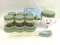 Magic Baby Bullet Food Puree Storage Containers With Lids & Acc - New Open Box