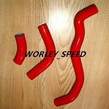 RED Silicone Radiator Heater  Hose Kit For Suzuki DRZ400SM 2006-2012 06-12