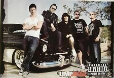 """LIMP BIZKIT """"GROUP SHOT BY CLASSIC 50's CAR"""" POSTER FROM ASIA - Fred Durst & Co."""