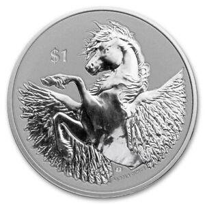 BRITISH VIRGIN ISLANDS 1 Dollar Argent 1 Once Pegase 2021