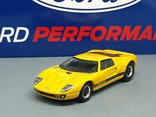 2005 FORD GT LIMITED EDITION ADULT COLLECTIBLE 1/64 SCALE SUPER CAR YELLOW