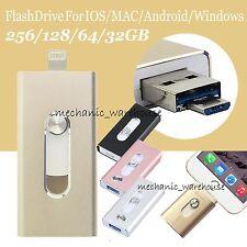 i Flash Drive OTG Device USB Speicher Stick 256 128GB Für iPhone 7 6S 6 Plus 5S