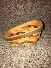 Longaberger Brand New Santa Little Sleigh Basket