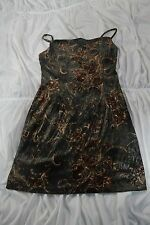 Astuces Dress Green/Brown sz 3 Excellent (C1)