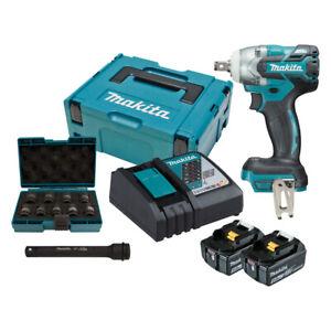 Makita DTW285RTJX Impact driver Pistol handle Schwarz Blau 3500 2600 1800 RP ~D~