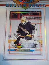 1993 Topps Stadium Club Master Photo 5X7 Card TOM BARRASSO 12 OF 12 PENGUINS