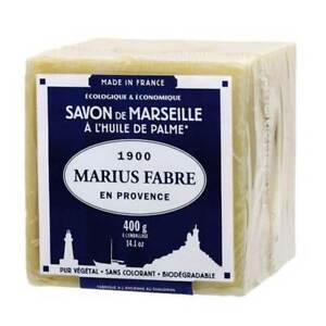 MARIUS FABRE Angebot 3PZ Würfel Marseille Seife 400GR Weiß Zubehör Reinigung