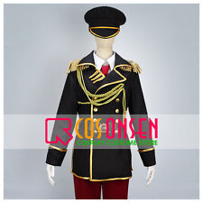 Cosonsen K Project Totsuka Tatara Spoon Military Uniform Cosplay Costume