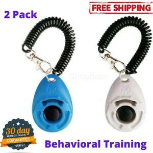 Dog Training Clicker Wrist Strap Pet Training Cats Puppy Birds Horses Behavioral