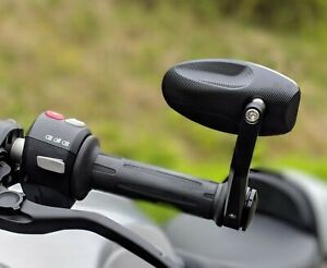 CNC Bar End Mirrors Ducati Diavel pair Genuine HJR Products