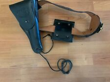 "El Paso Saddlery 36"" Black US Holster, Belt and Clip Case"