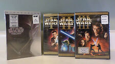 STAR WARS TRILOGY COMPLETE SAGA 10 - DISC DVD SET BRAND NEW SEALED All 6 MOVIES