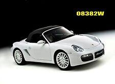 PORSCHE BOXSTER S WHITE 1/18 KYOSHO 08382W