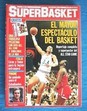 Revista SUPER BASKET, 1987 y 88! 8 ejemplares a ELEGIR. NBA ACB, MUY BUEN ESTADO