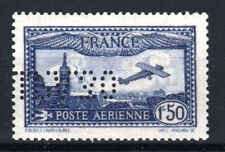 "FRANCE TIMBRE STAMP AVION 6 c "" 1F50 OUTREMER EIPA 30 "" NEUF xx LUXE SIGNE R894"