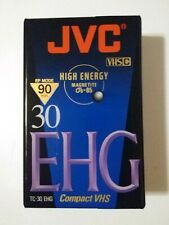 JVC VHS-C Compact Tapes NEW