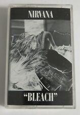 "New ListingNirvana ""Bleach"" Cassette Tape 90s Sub Pop Grunge Rock Kurt Cobain 80s"