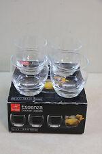 Set of 4 Bormioli Rocco Essenza Cocktail Glasses 12.5 oz Made in Italy