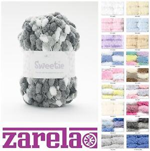 Sirdar Snuggly Sweetie 200g Pom Pom Baby Knitting Yarn Wool ***ALL COLOURS***