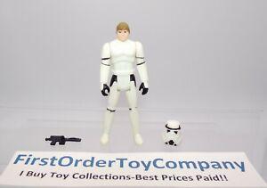 Vintage Star Wars POTF Last 17 Luke Skywalker Stormtrooper Figure COMPLETE C-8.5